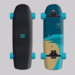 Hydroponic Surfskate beach blue surfskate completo