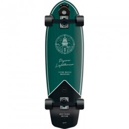 "Flying Wheels Best Place 31,5"" green surfskate completo"