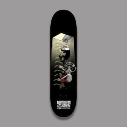 Hydroponic Mortadelo y Filemón Stairs 8,0'' tabla de skate