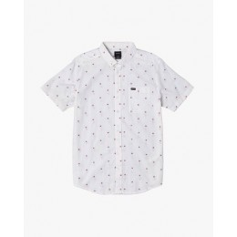 Rvca Thatll Do Dobby white 2020 camisa