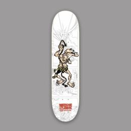 Hydroponic Mortadelo y Filemón Tarzan 8,0'' tabla de skate