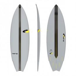 TORQ GOKART ACT 5'10 EPOXY FISH Tabla de surf