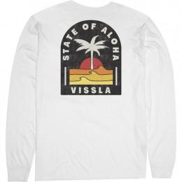 Vissla Toasty Coast vintage white 2021 camiseta de manga larga