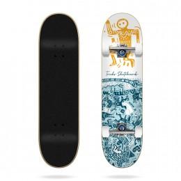 """Tricks Tribal 7,75"""" Skateboard completo"""