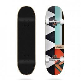 "Tricks Pattern 7,87"" Skateboard completo"