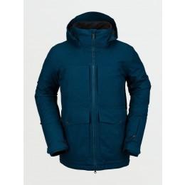 Volcom Tri Star insulated blue 2021 chaqueta de snowboard