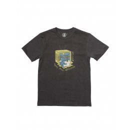 Volcom Tune into black 2021 camiseta de niño