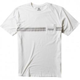 Vissla El Sporto vintage white 2021 camiseta