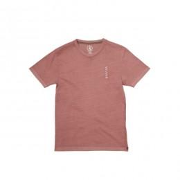 Volcom Virt rose brown 2021 camiseta de niño