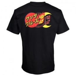 Santa Cruz Dot Group black 2021 camiseta