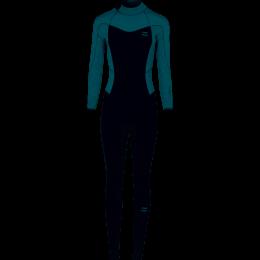 Billabong Furnace Synergy BackZip GBS 4/3mm Traje de neopreno de mujer
