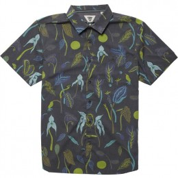Vissla Weird weeds black 2020 camisa