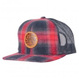 RIp Curl Premium Wetty black red gorra