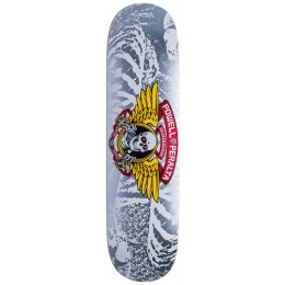"Powel Peralta Winged Ripper silver 8.0"" tabla de skate"
