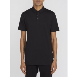 volcom wowzer black 2018 polo