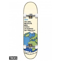 Tricks World 8'' Skateboard completo