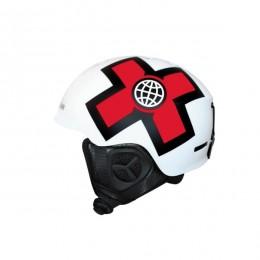Prosurf X games white red 2021 casco de snowboard y skate