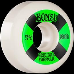 Bones 100´s #4 V5 54mm white Ruedas de skateboard