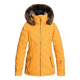 Roxy Quinn ylk mustard 2020 chaqueta de snowboard de mujer