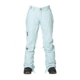 Nikita White Pine sea foam green 2021 pantalón de snowboard de mujer