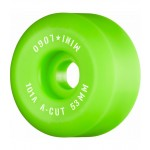 Mini logo C Cut 53mm 101 green Ruedas de skateboard