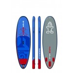 "Starboard Hinchable All Round Whopper Deluxe 10´ x 35"" pack completo paddle surf"