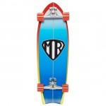 Quiksilver Mr Super 31'' Blue Surfskate Completo