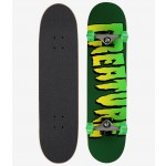 Creature Logo Full green 8'' Skateboard completo