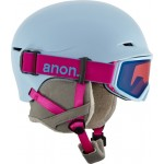 Anon Define artic blue 2018 casco de snowboard de niño