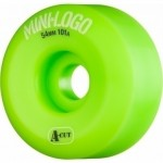Mini logo A cut 54mm 101A green Ruedas de skateboard