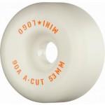 Mini logo A cut 53mm 90A white Ruedas de skateboard