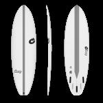 """TORQ TEC 6'10"""" BIGBOY23 Tabla de surf"""