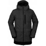 Volcom D.S Long black check 2021 chaqueta de snowboard