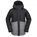 Volcom Scortch black static 2021 chaqueta de snowboard