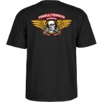 Powel Peralta Winged Ripper black 2020 camiseta