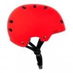Bullet Deluxe red casco skateboard