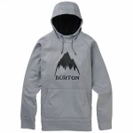 Burton Crown bonded po grey heather 2020 sudadera técnica de snowboard