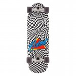 D Street Check warp 32'' Surfskate completo