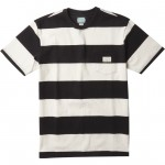 Vissla Creators Block stripe eco pocket black 2021 camiseta
