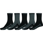 Globe black grey crew 5 pack 2020 calcetines