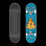 Cruzade Illuminati pizza 8.0'' Skate completo