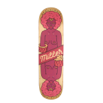 Miller Curly Hair 8'' tabla de skateboard