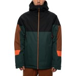 686 Static Insulated dark spruce colorblock 2021 chaqueta de snowboard