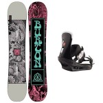 Burton Descendant wide + Burton freestyle 2020 Pack de snowboard