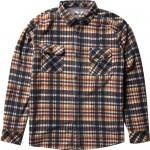 Vissla Eco-Zy polar flannel dark naval 2022 camisa