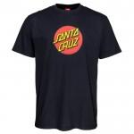 Santa Cruz Classic dot black 2021 camiseta