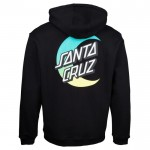 Santa Cruz Moon Dot Fade black 2021 sudadera
