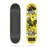 Cruzade The incredible farting man 8.25'' Skateboard completo