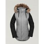 Volcom Fawn Ins heather grey 2020 chaqueta de snowboard de mujer