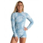 Billabong Spring fever 2mm blue palms 2020 neopreno de mujer
